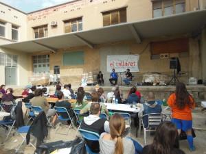 Concert posterior al dinar inaugural d'El Tallaret on van participar unes 200 persones